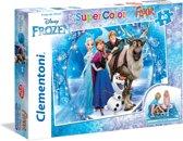 Clementoni - Vloerpuzzel - Disney Frozen, Make your own magic - 40 stukjes