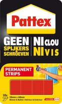 Pattex Montagetape strips - Permanent - Montage tape