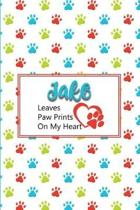 Jake Leaves Paw Prints on My Heart
