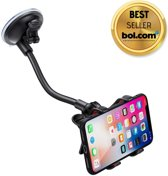XR3 Flexibele mobiele telefoon houder - Zwart - Universeel - Auto - GSM - Zuignap - Raam - Dashboard - Smartphone - Mobile phone holder for car