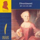 Mozart: Divertimenti KV 113-131-205