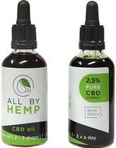 All by Hemp 2,5% CBD olie (50ml)