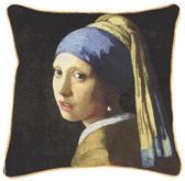 Signare Kunst kussenhoes Johannes Vermeer: Meisje met de Parel