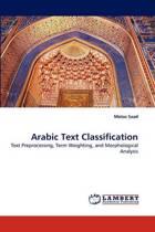 Arabic Text Classification