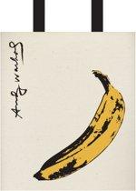 Warhol banana tote bag