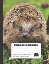 Curious Hedgehog - Composition Book