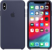 Apple Siliconen Back Cover voor iPhone XS Max - Blauw