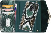 Mobilize Velvet Clutch for Samsung Galaxy S9 Green Snake