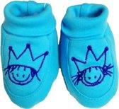 Rube & Rutje baby schoentjes R&R turquoise 0-6 maand
