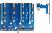 DeLOCK 41427 interfacekaart/-adapter PCIe,USB 3.0 Intern