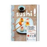Sushi, maki, temaki, chirashi, sashimi...