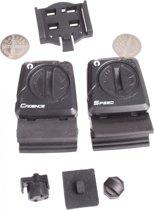M-wave Extra / Vervangende Sensoren Set Zwart