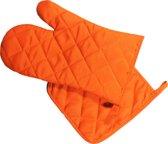 Arowell Ovenwant en Pannenlap - Oranje