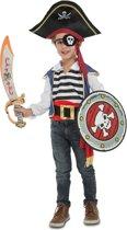 Piratenkostuum met accessoires voor kinderen - Verkleedkleding