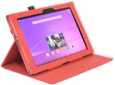 Gecko Covers Luxe hoes voor Sony Xperia Z2 Tablet - Rood