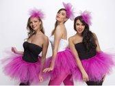 Fuchsia roze dames tutu