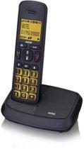 Switel DCT59072 Wizard - Single DECT telefoon - Antwoordapparaat - Zwart