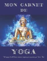 Mon carnet de Yoga: Format 21,6 cm x 27,9 cm