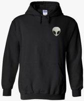 hippe sweater   hoodie   alien   maat XXL