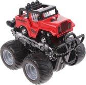 Toi-toys Stunt Truck Set Rood