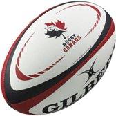 Gilbert Official Canada Replica rugbybal maat 5