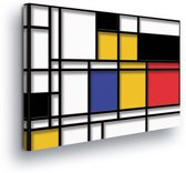Modern Art Canvas Print 100cm x 75cm