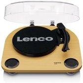 Lenco LS-40 - Platenspeler met ingebouwde speakers en AUX - Hout