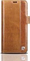 Samsung Galaxy S9 Book Case echt leer van Pierre Cardin - Bruin