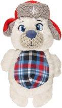 Kerst hondenspeelgoed polar beer 27cm