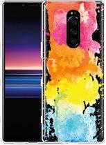 Sony Xperia 1 Hoesje Color Splatters