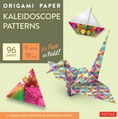 Origami Paper - Kaleidoscope Patterns - 6 - 96 Sheets
