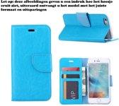 Xssive Hoesje voor Samsung Galaxy Fame Lite S6790 Boek Hoesje Book Case Turquoise