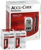 Bloedglucosemeter Accu Chek Performa + 100 teststrips