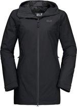 Jack Wolfskin Astana Coat Dames Outdoorjas - Black - Maat L