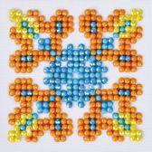 Diamond Dotz ® painting Autumn Mandala 2 (7.6x7.6 cm)