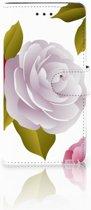 Huawei Y5 2018 Uniek Boekhoesje Roses