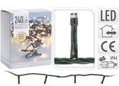 KerstXL LED verlichting -  18 meter – 240 LED lampjes – extra warm wit - voor binnen & buiten