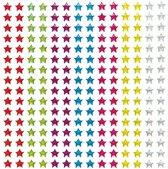 Zelfklevende kristallen sterren stickers met glitter - knutselspullen voor kinderen - scrapbooking verfraaiing om te maken en versieren kaarten decoraties en knutselwerkjes (280 stuks)