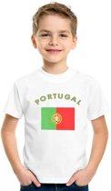 Kinder t-shirt vlag Portugal L (146-152)