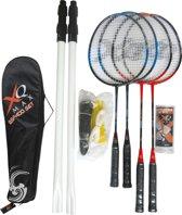 XQ Max BSF400 - Badminton Set - 4 spelers - Multi