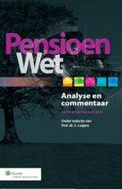 Pensioenwet Analyse & Commentaar