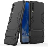 Samsung Galaxy A70 Hoesje - Armor Kickstand - Zwart