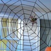 Halloween Party Decoration Supply Black Spinnenweb Met Spider Honor Speeltoestellen