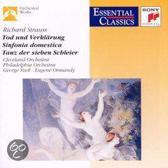 Strauss: Tod und Verklarung, etc / Szell, Ormandy
