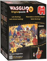 Wasgij Original 5 Late Booking - Puzzel - 500 stukjes