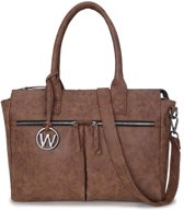 Wimona Catarina 2030 laptoptas cognac