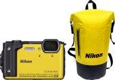 Nikon Coolpix W300 + Waterbestendige Rugtas - Geel