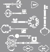 Sleutel sjabloon