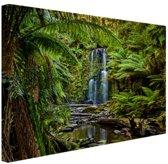Beauchamp watervallen Canvas 180x120 cm / XXL / Grote Poster - Wanddecoratie cm - Foto print op Canvas schilderij (Wanddecoratie woonkamer / slaapkamer) cm - Foto print op Poster (wanddecoratie)