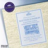 Matthaus-Passion - St. Matthew Passion / Passion Selon St Matthieu